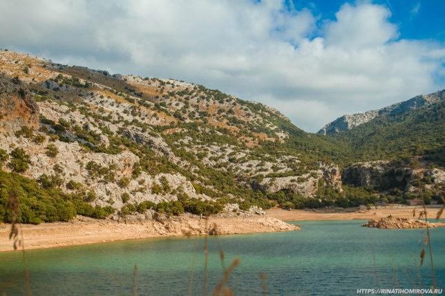 Водохранилище на Мальорке